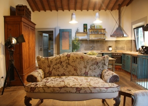 The Blue apartment of Tuscan Country Resort